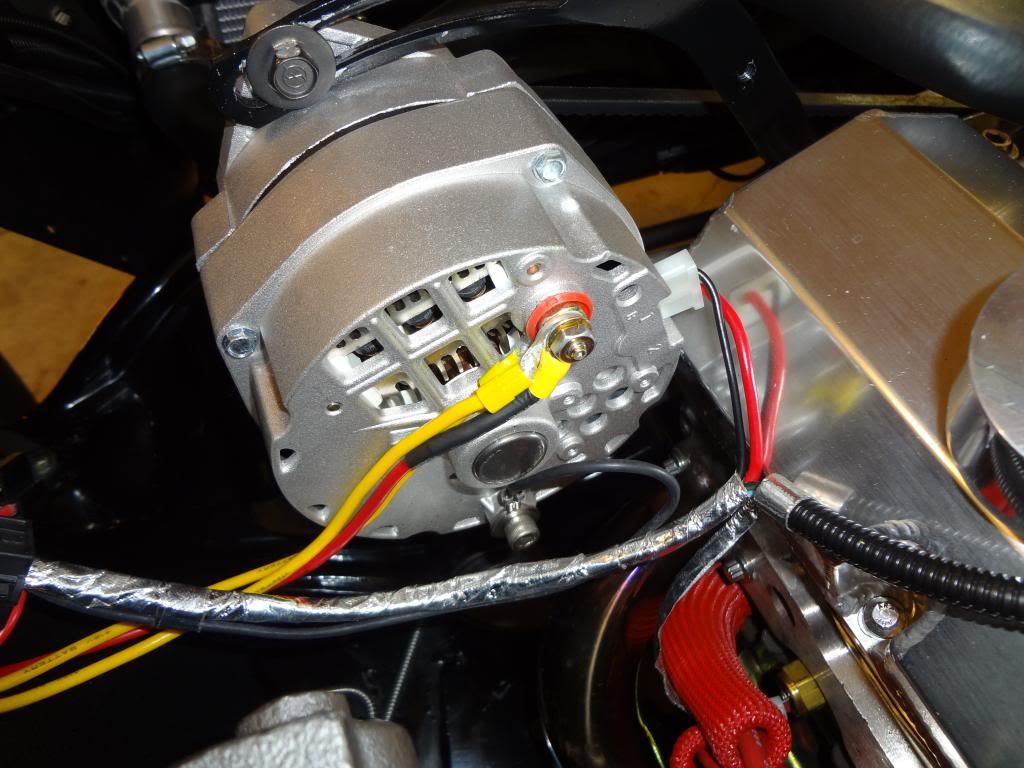 denso 12v alternator wiring diagram led strip light conversion loop frames