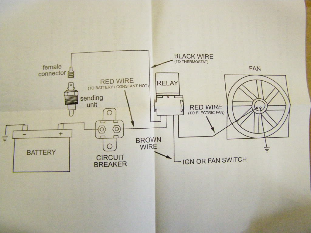 Be Cool Electric Fan Wiring Diagram