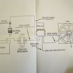 Radiator Electric Fan Wiring Diagram Nissan Sentra Alternator Focus Cooling Fans On The Cheep Corvetteforum
