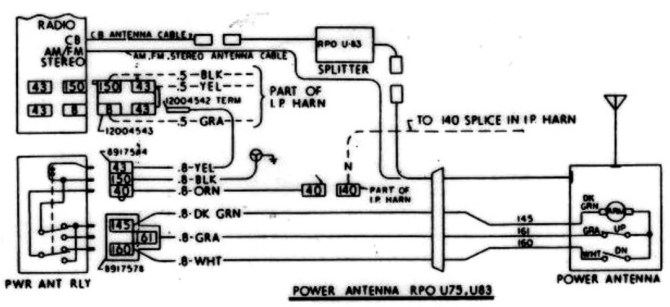 adding a power antenna to '70 how to make it automatic