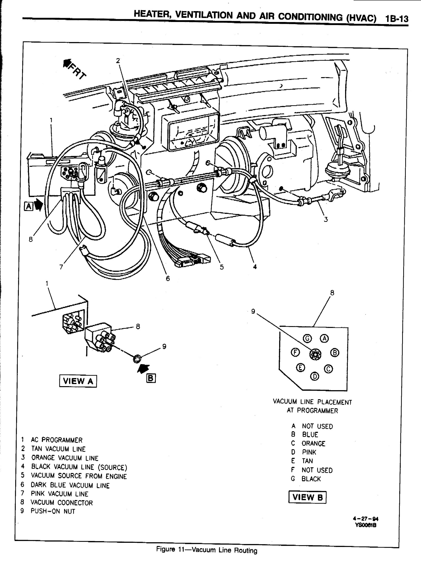 Corvette Vacuum Diagram