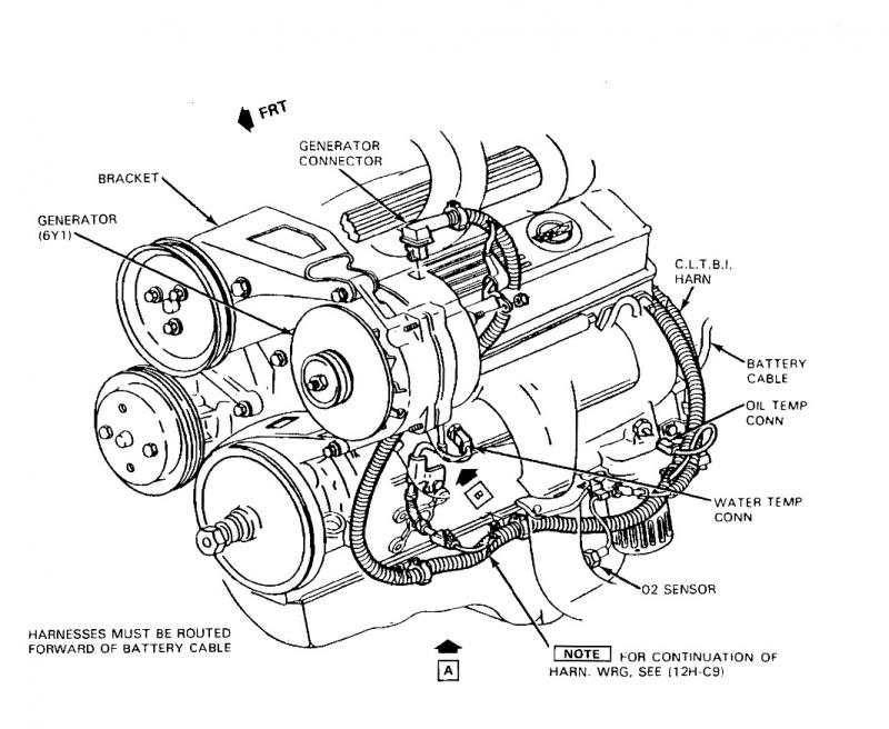 1991 Corvette L98 Engine Diagram 1991 Corvette LT4 Wiring