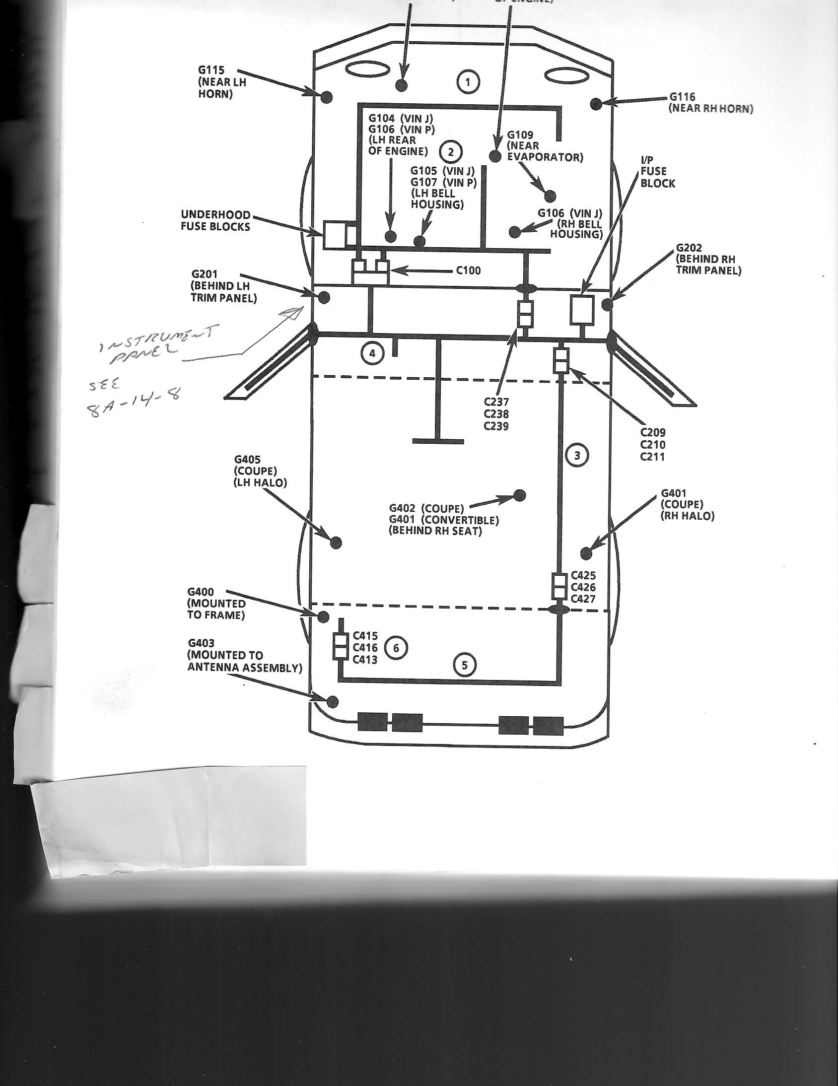 C5 Corvette Radio Wiring Diagram On Wiring Diagram For 1999 Corvette