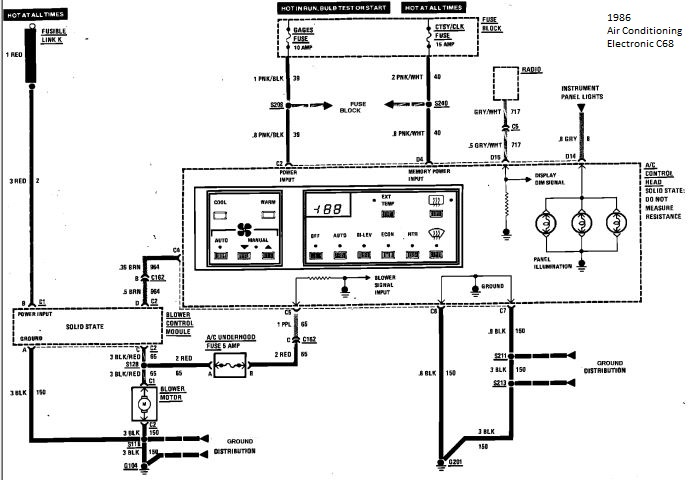 Radio Wiring Diagram For 1990 Mercedes 350sdl : 45 Wiring