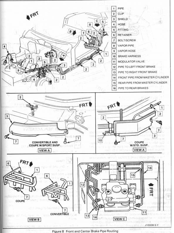 Diagram Of A 94 Corvette Engine