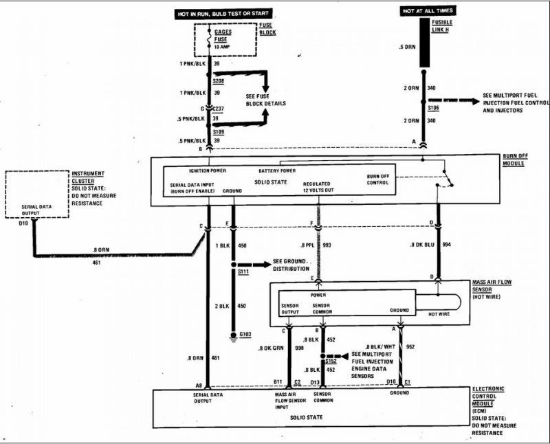 wiring diagram 1989 c4 corvette digital cluster instrument