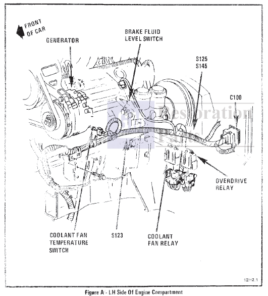 Automotive 1984 Corvette Cooling Fan Wiring Diagram
