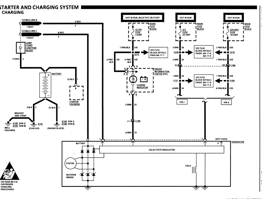 94 Lt1 Alternator Regulator Wiring Diagram Lt1 Starting