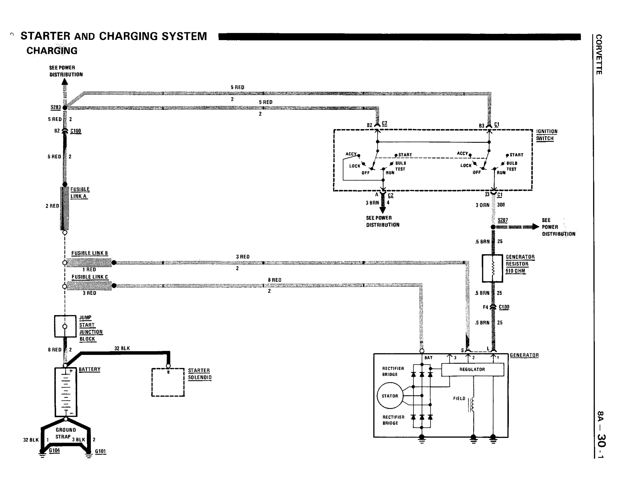 hight resolution of 1984 corvette engine diagram wiring diagram alternator wiring diagram corvetteforum chevrolet corvette forumname 86