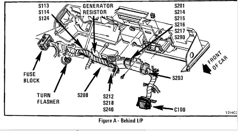 1980 C3 Corvette Fuse Box. Corvette. Auto Wiring Diagram