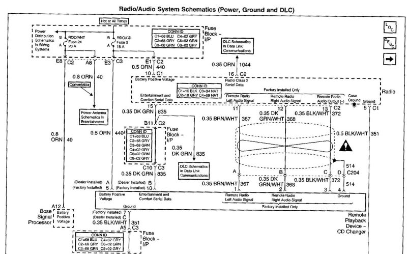 C5 Stereo Wiring Diagram? CorvetteForum Chevrolet Corvette
