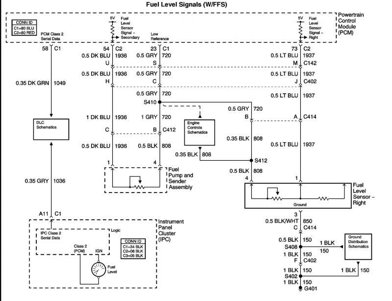 Fuel Sending Unit Wire Diagram? CorvetteForum Chevrolet