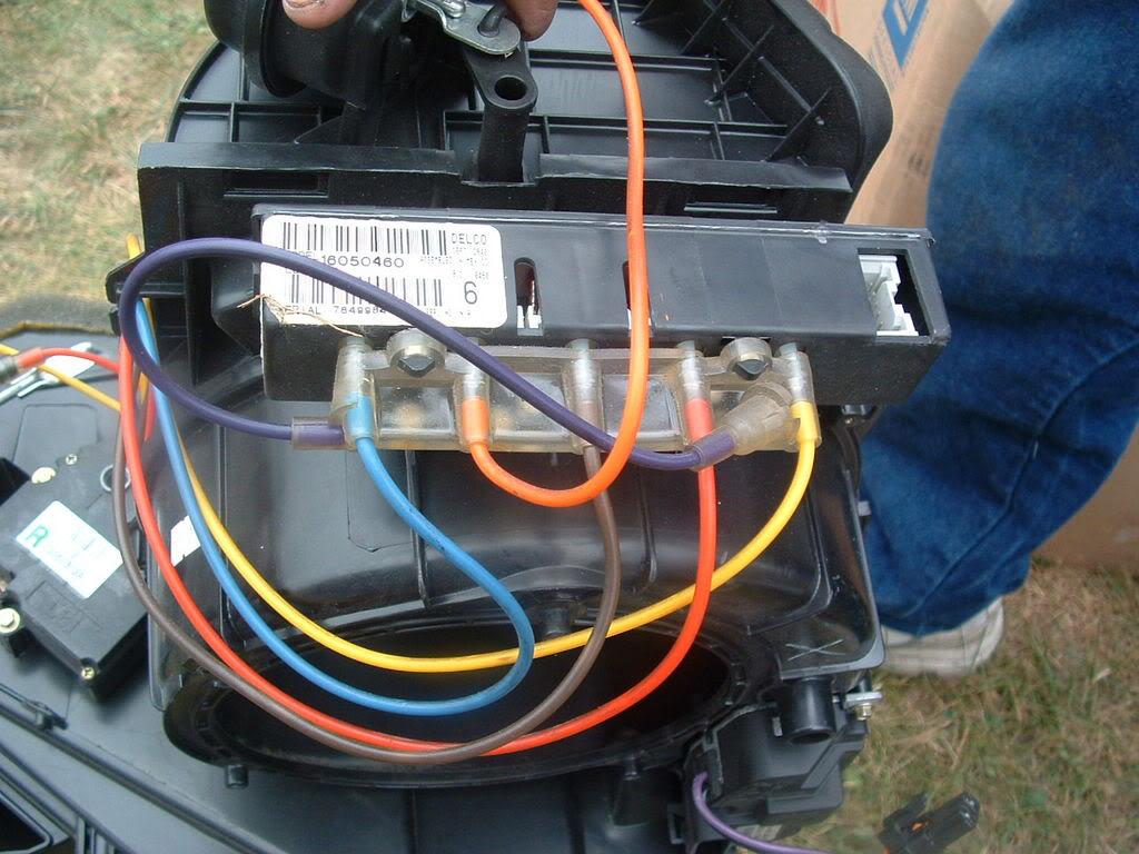 2000 Ford E350 Wiring Diagram Climate Control Won T Change Vents Corvetteforum