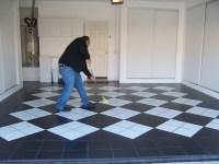 Checkerboard Garage Floor Coating - Carpet Vidalondon