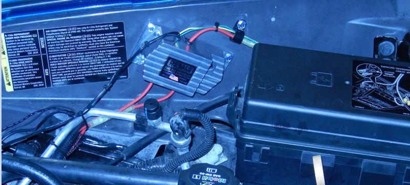 Electric Fan Wiring Kit Adjustable Probe Style