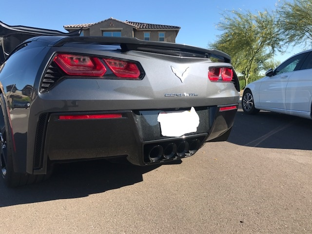 painted npp exhaust tips gloss black