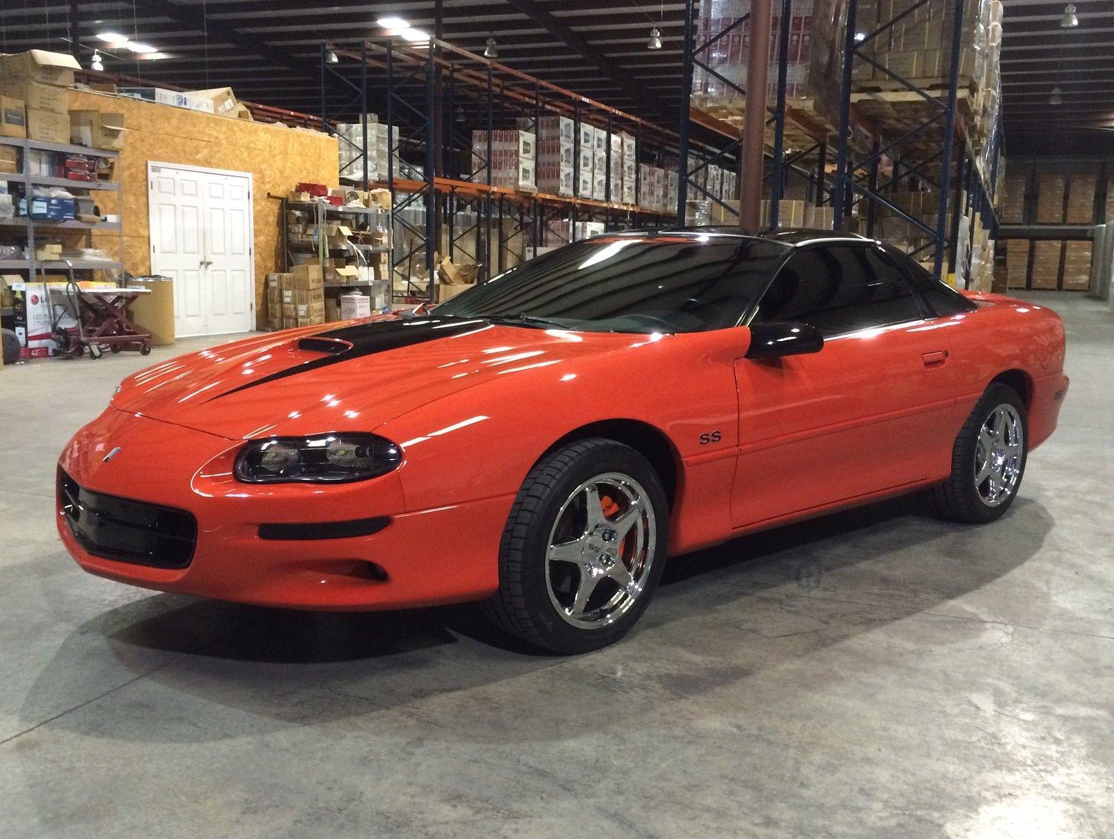 99 Hugger Orange SS Camaro  CorvetteForum  Chevrolet