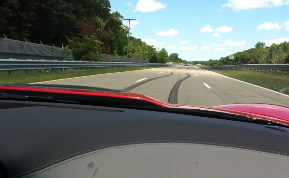 [VIDEO] Hotlap with Jim Mero in a Corvette ZR1 at GM's Milford Proving Ground