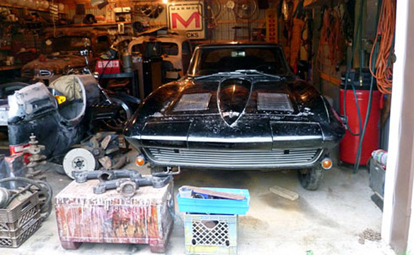 Information Wanted on Barn Found Mystery 1963 Corvette Split-Window