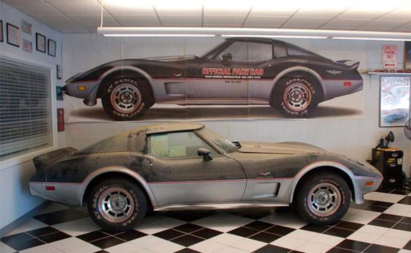 Abu Dhabi Sheik Buys 13-Mile '78 Corvette Pace Car