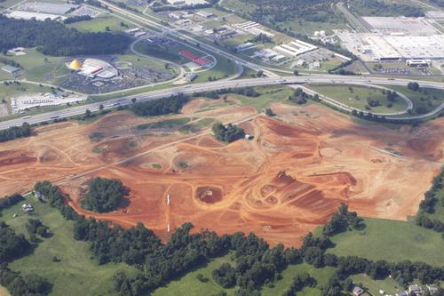August23 Aerial Photo of NCM Motorsports Park