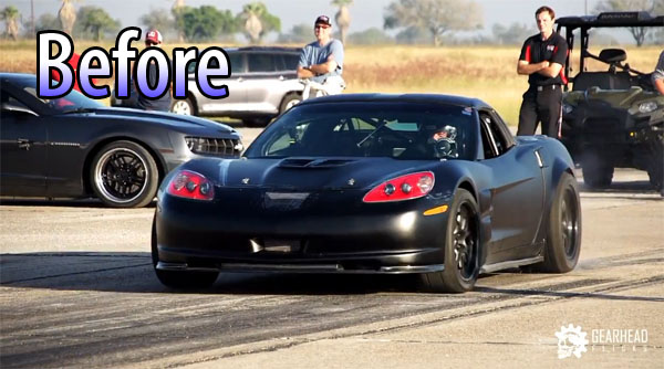 Cooked Corvette at Texas Mile (Pre-Cooked)