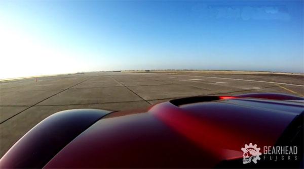 C6 Corvette Z06 at Texas Mile