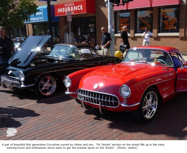 father and son Vettes captioned