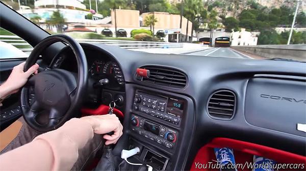 Corvette in Monaco Home