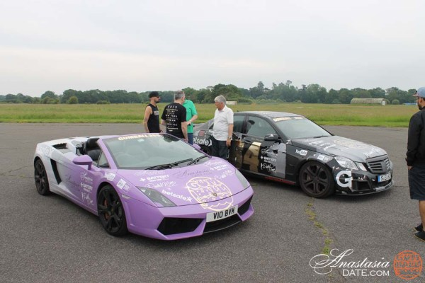 Team AnastasiaDate at the Top Gear Test Track (2)