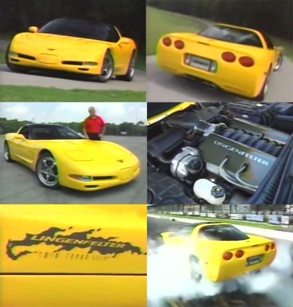 2000 Lingenfelter Twin-Turbo Corvette Stage II Collage Home