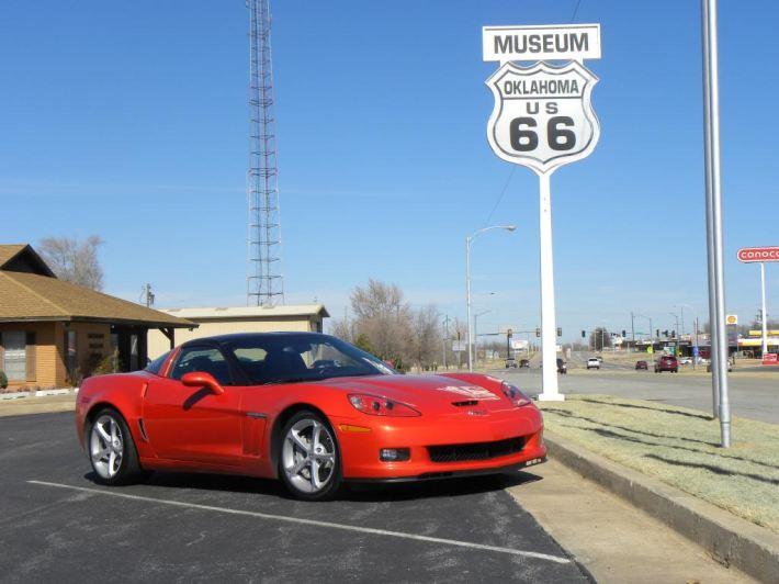 2012 Inferno Orange Chevrolet Corvette Grand Sport 4LT (1)
