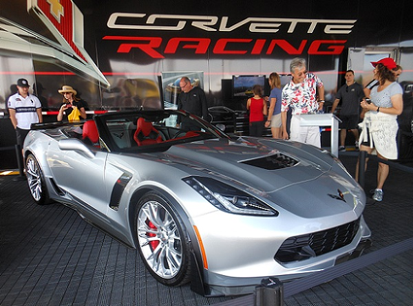 Corvette Racing text