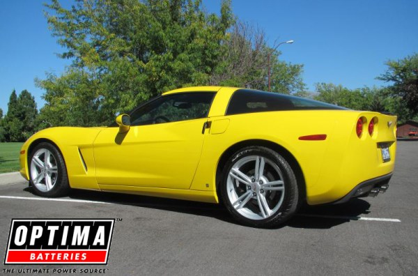 2009 Chevrolet Corvette 2LT Coupe in Yellow Home