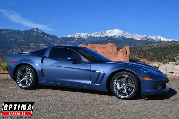 Supersonic Blue is The Hue for the C6 Corvette Grand Sport