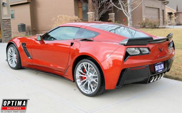 2015 Corvette Z06 (C7) Daytona Sunrise Orange Metallic Delivered and in the Driveway Home