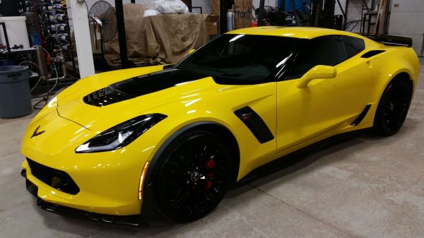 2015 Corvette Z06 in Garage