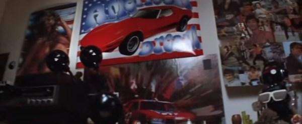 Boogie Nights - Dirk's Room - Corvette Wall