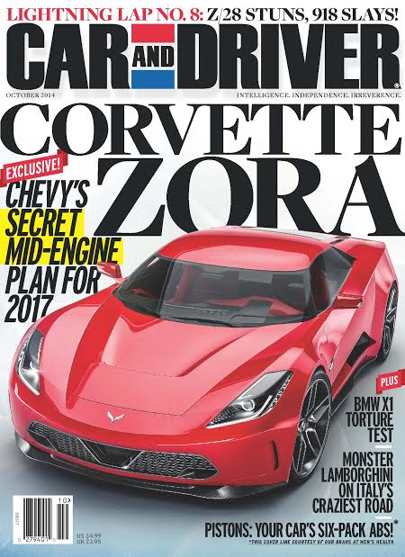 Mid-Engine Chevrolet Corvette C8 Rendering on Car and Driver