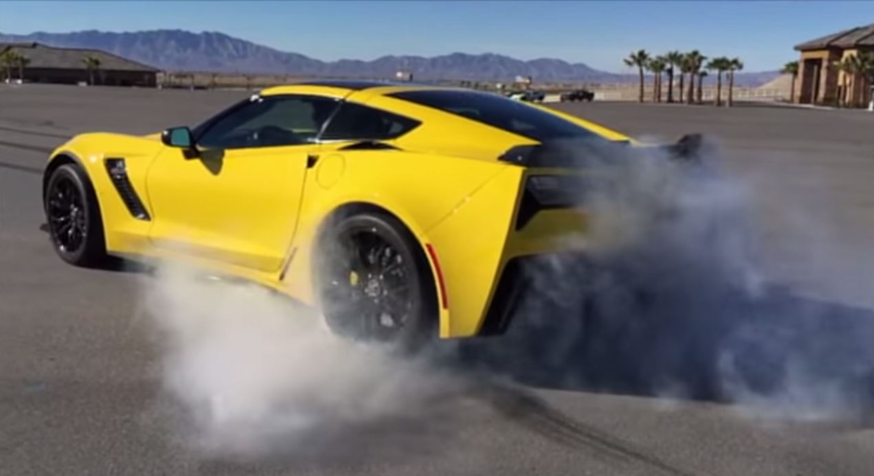 Car Burn Out Wallpaper Here S One Of The Best C7 Corvette Z06 Burnouts To Date