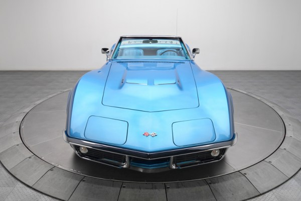 LeMans Blue 1969 Corvette Stingray