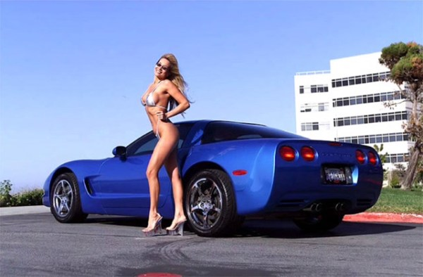 C5 Corvette and Sexy Woman - Corvettes and Sexy Women
