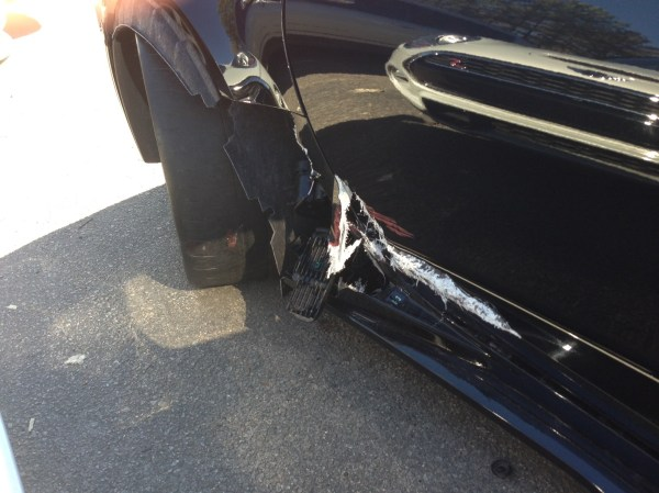 Wrecked Z06 Image 2