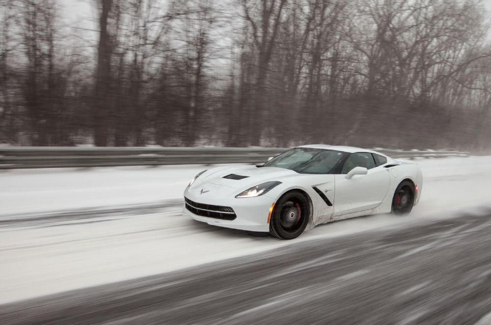 C7 CorvetteTurnedSnowmobile Tackles Winter With