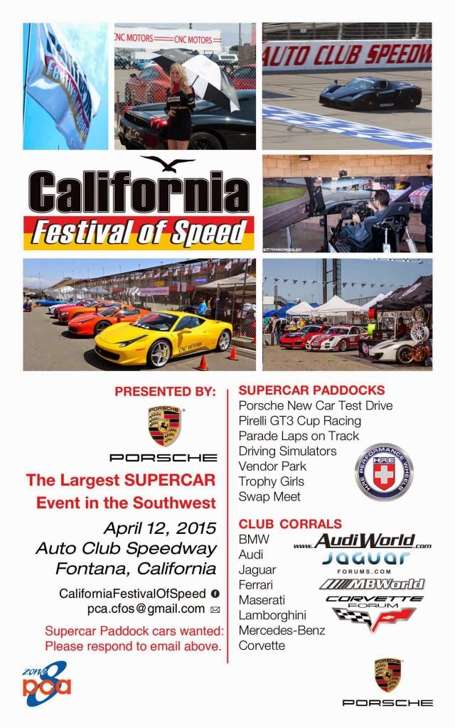 California Festival of Speed Flyer 640