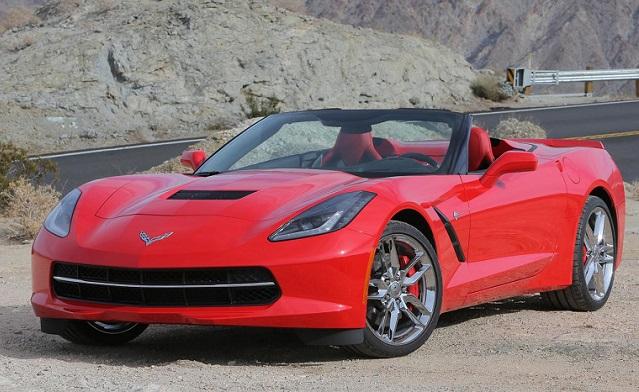 Convertible Corvette C7 featured image