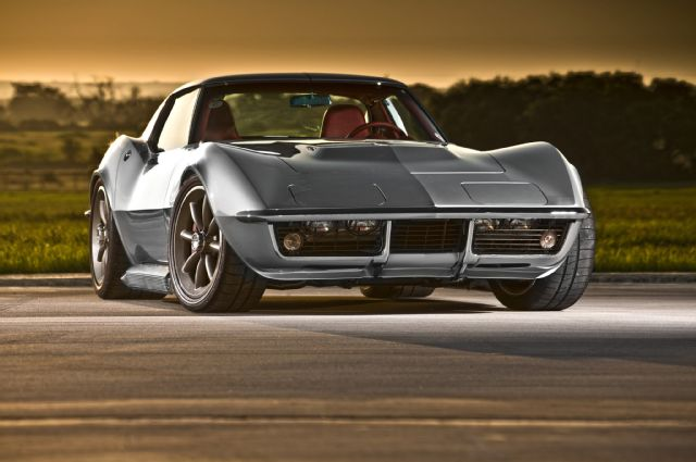 Muscle Car 3d Live Wallpaper You Make The Call 68 Pro Touring Vette Or 71 Resto Mod