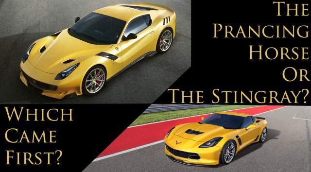 F12 Corvette