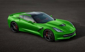 Here is a C7 Corvette that is decidedly not electric-powered.