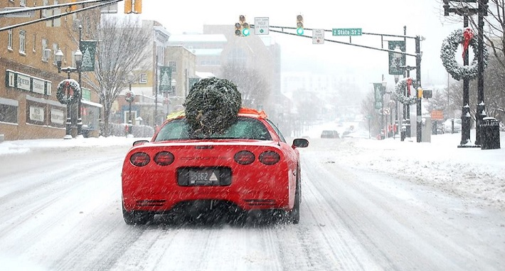 Corvette Christmas FB